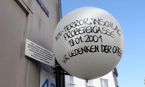 19. Jahrestag – NSU-Anschlag in der Kölner Probsteigasse