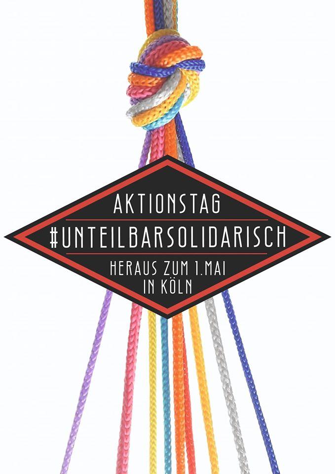 Aktionstag: #UnteilbarSolidarisch – Heraus zum 1. Mai!